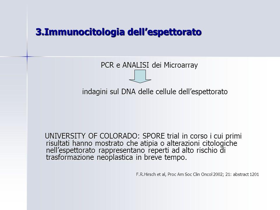 3.Immunocitologia dell'espettorato