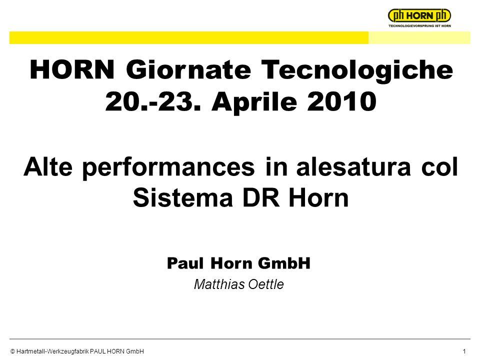 HORN Giornate Tecnologiche 20. -23