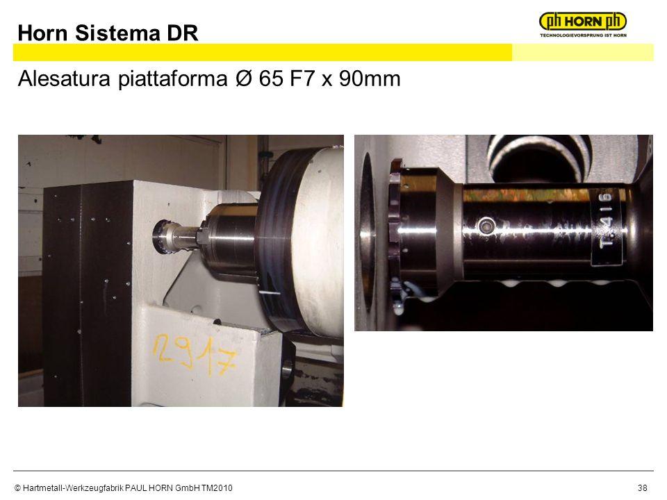Horn Sistema DR Alesatura piattaforma Ø 65 F7 x 90mm
