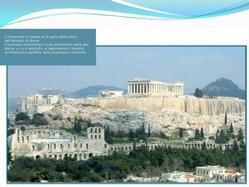 In origine Atene era un piccolo villaggio dell'Attica, la penisola che si affaccia sul mare fra il Golfo di Corinto e l'Egeo.