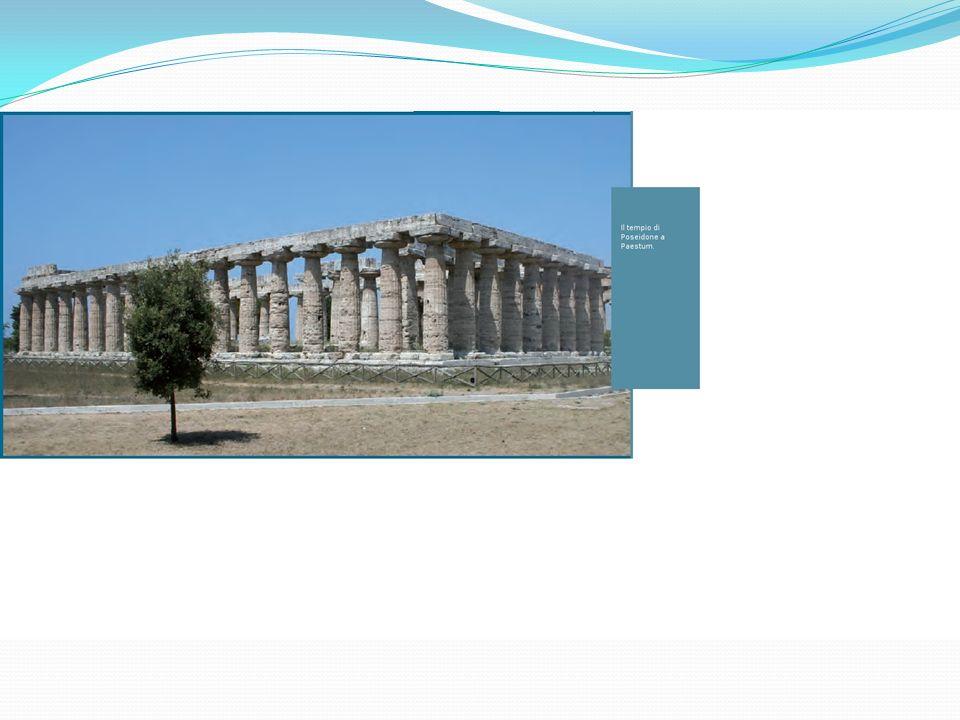 Il tempio di Poseidone a Paestum