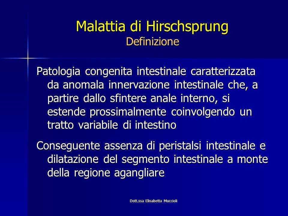 Malattia di Hirschsprung Definizione