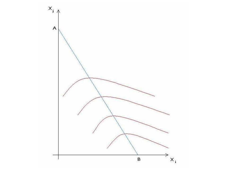 La curva di reazione dell'impresa (o curva di risposta ottima) è quella che congiunge i punti di massimo di tutte le curve isoprofitto. L'impresa si assicura di fare il meglio possibile qualunque sia la strategia del concorrente.