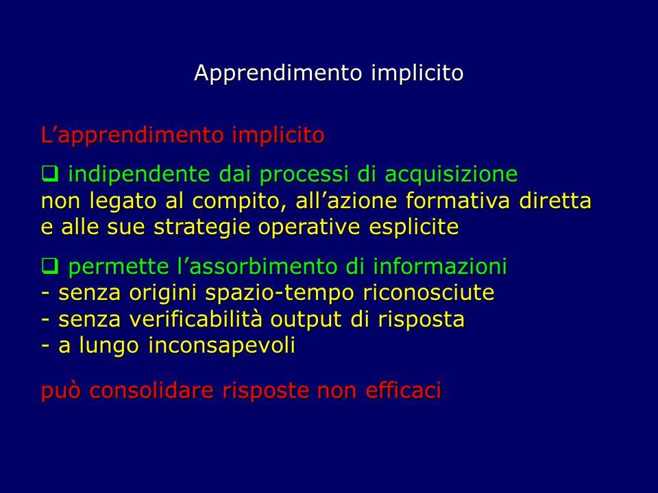 Apprendimento implicito