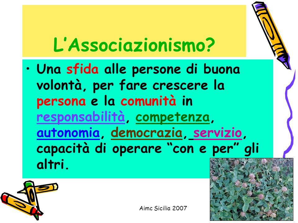 L'Associazionismo