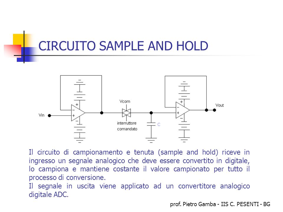 CIRCUITO SAMPLE AND HOLD