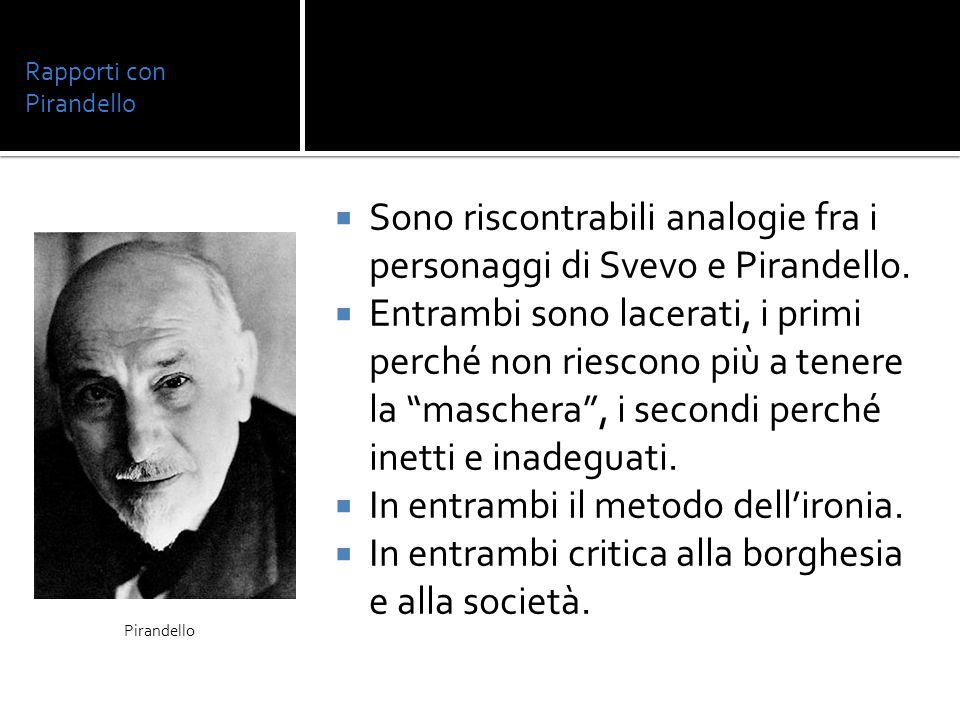 Rapporti con Pirandello