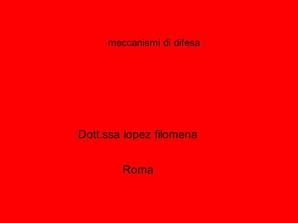 Dott.ssa lopez filomena Roma