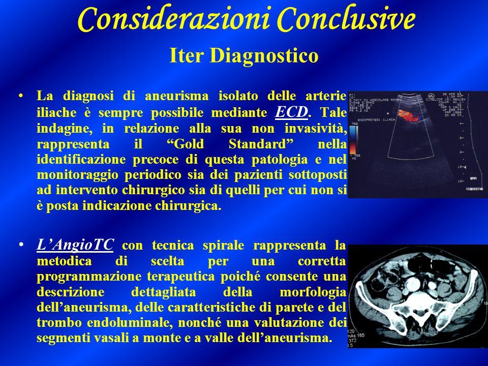 Considerazioni Conclusive Iter Diagnostico