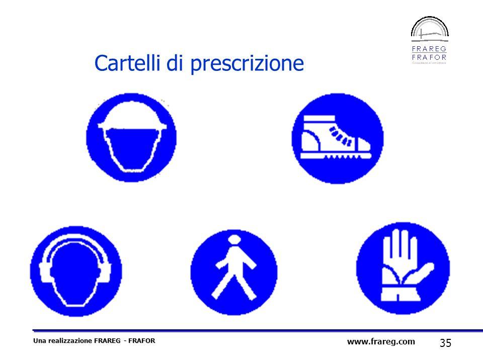 Cartelli di prescrizione