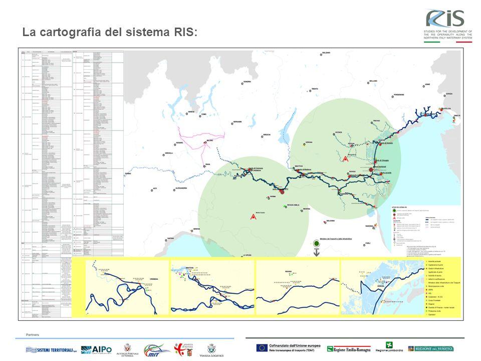 La cartografia del sistema RIS: