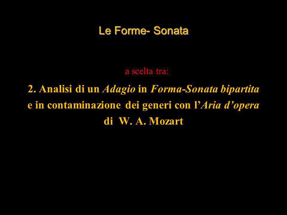 2. Analisi di un Adagio in Forma-Sonata bipartita