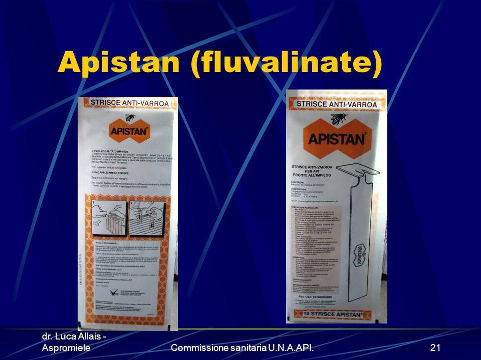Apistan (fluvalinate)