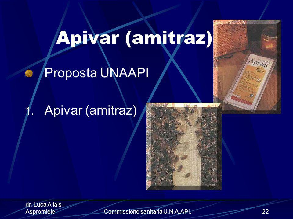 Commissione sanitaria U.N.A.API.