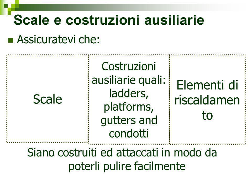 Scale e costruzioni ausiliarie