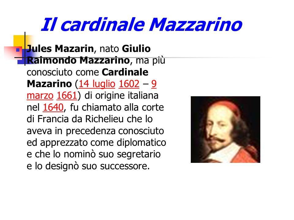 Il cardinale Mazzarino