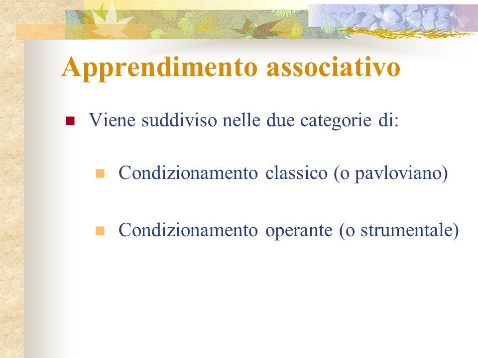 Apprendimento associativo