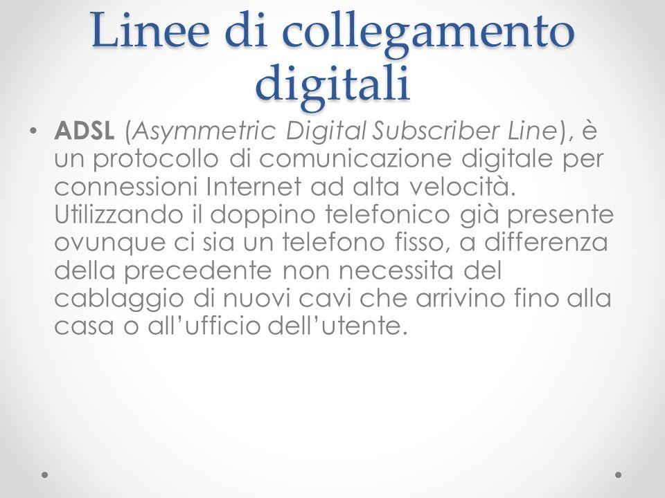 Linee di collegamento digitali