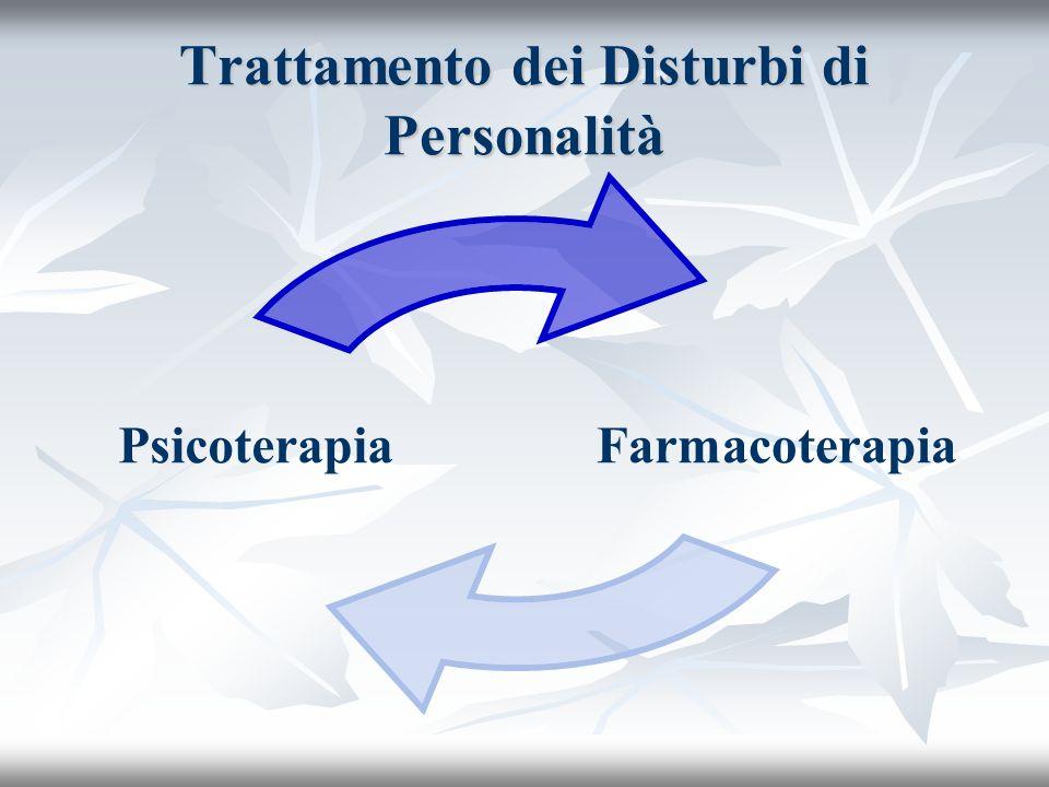 Trattamento dei Disturbi di Personalità