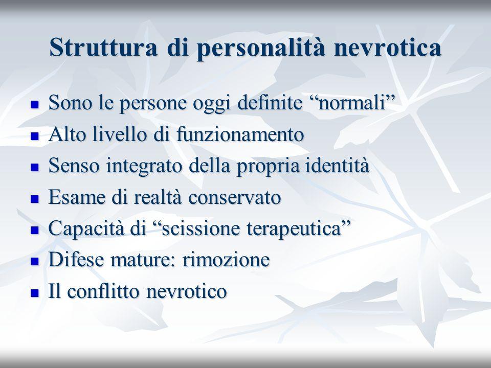 Struttura di personalità nevrotica