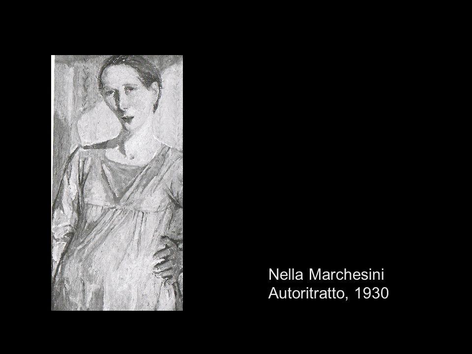 Nella Marchesini Autoritratto, 1930