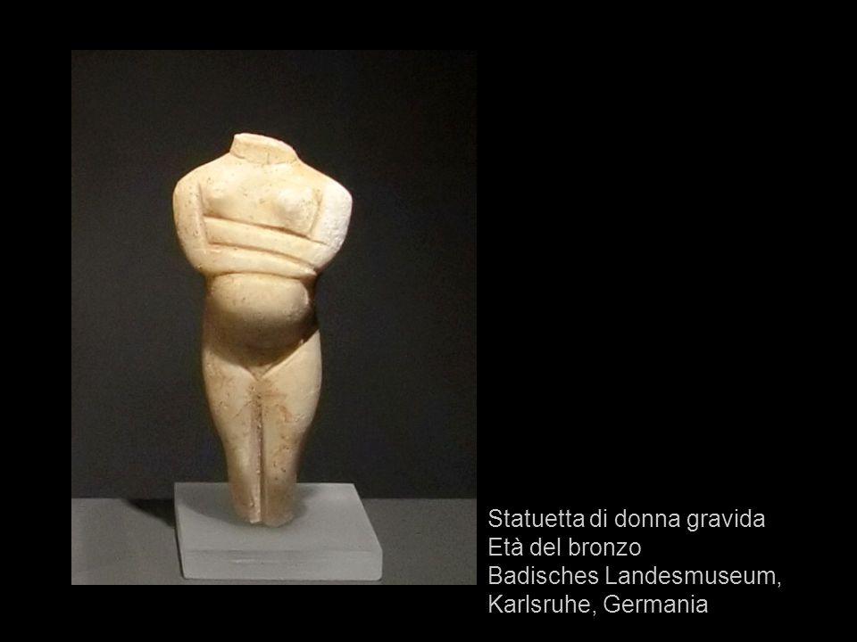 Statuetta di donna gravida