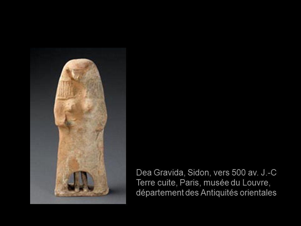 Dea Gravida, Sidon, vers 500 av. J.-C