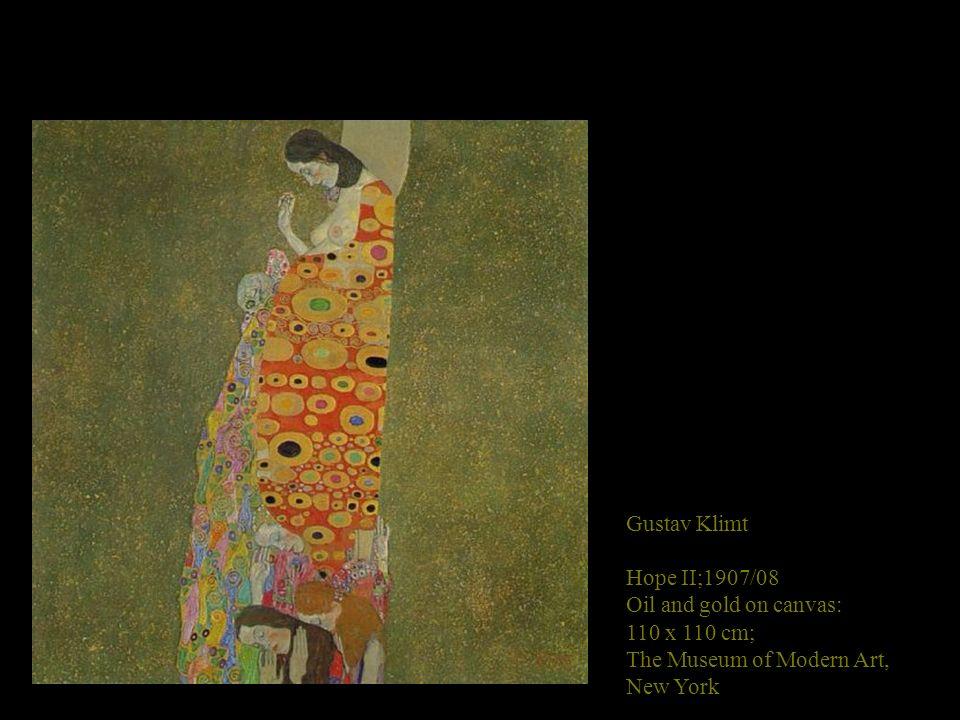 Gustav Klimt Hope II;1907/08.