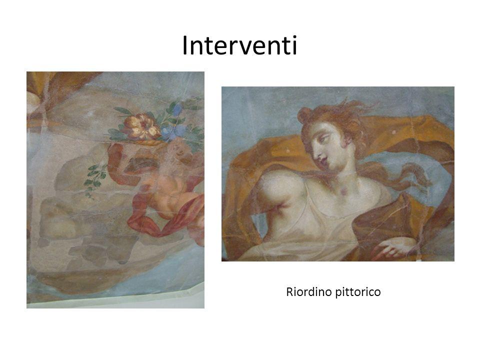 Interventi Riordino pittorico
