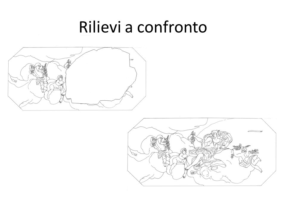 Rilievi a confronto