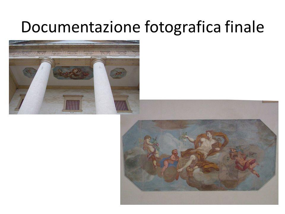 Documentazione fotografica finale