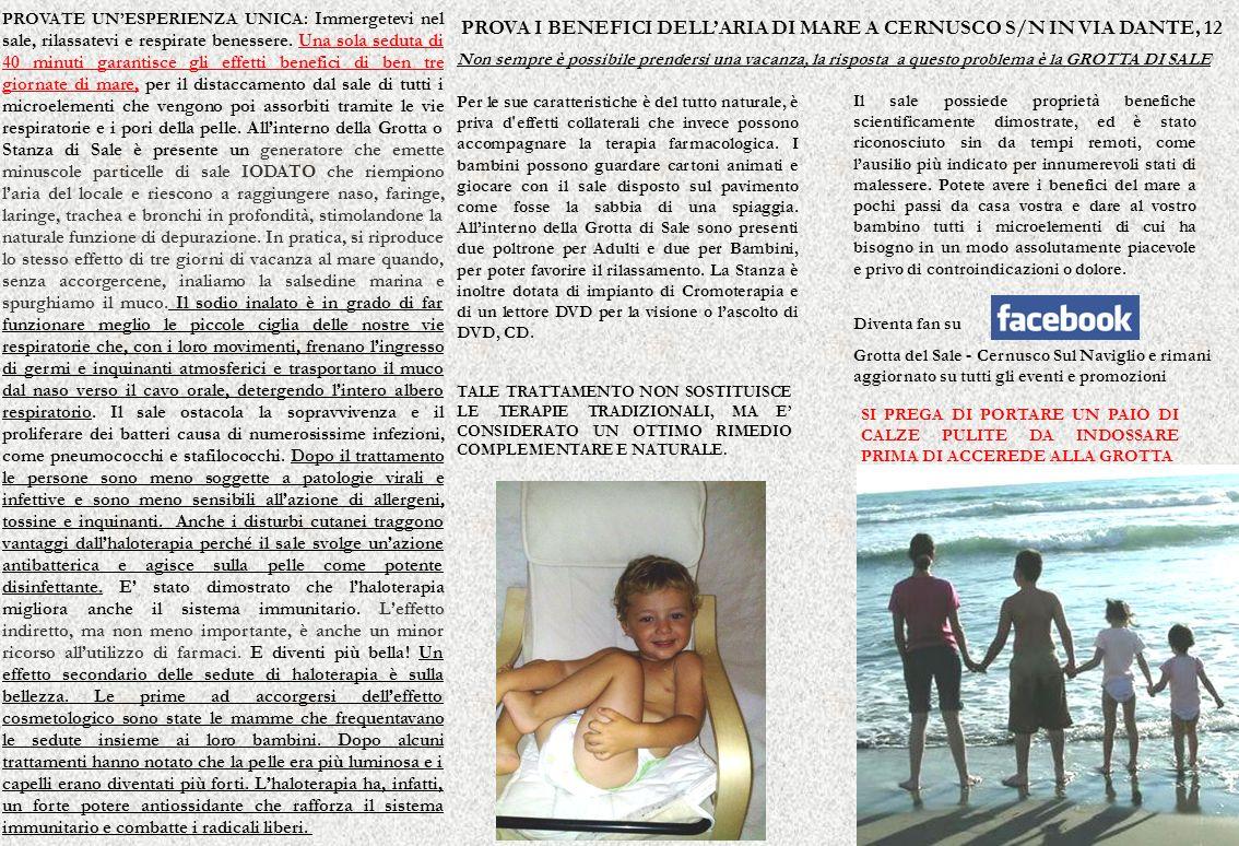 PROVA I BENEFICI DELL'ARIA DI MARE A CERNUSCO S/N IN VIA DANTE, 12