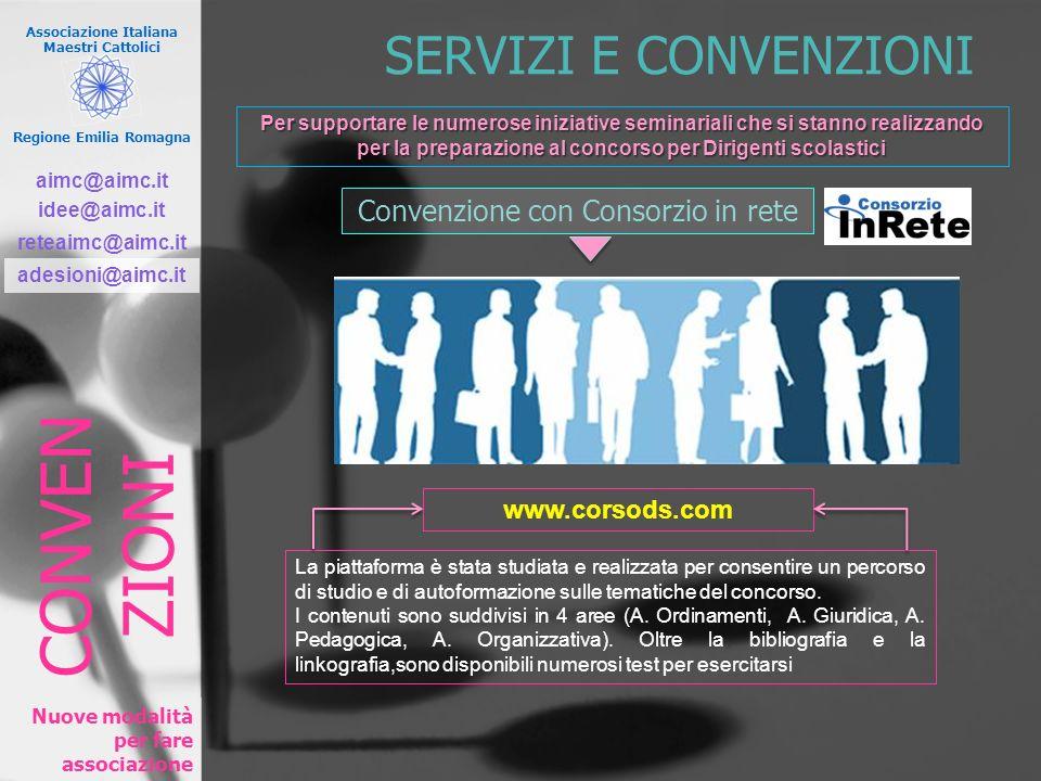 Convenzione con Consorzio in rete