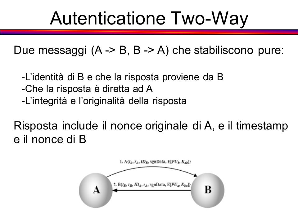 Autenticatione Two-Way