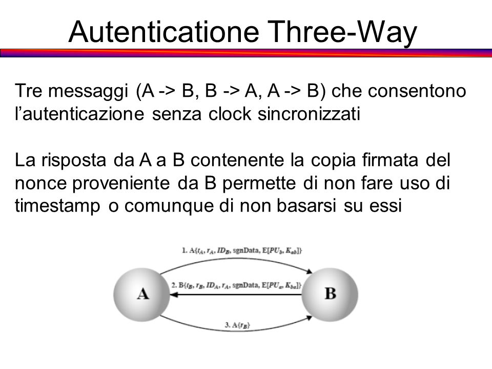 Autenticatione Three-Way