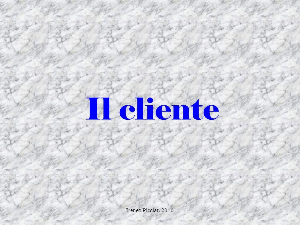 Il cliente Ireneo Picciau 2010