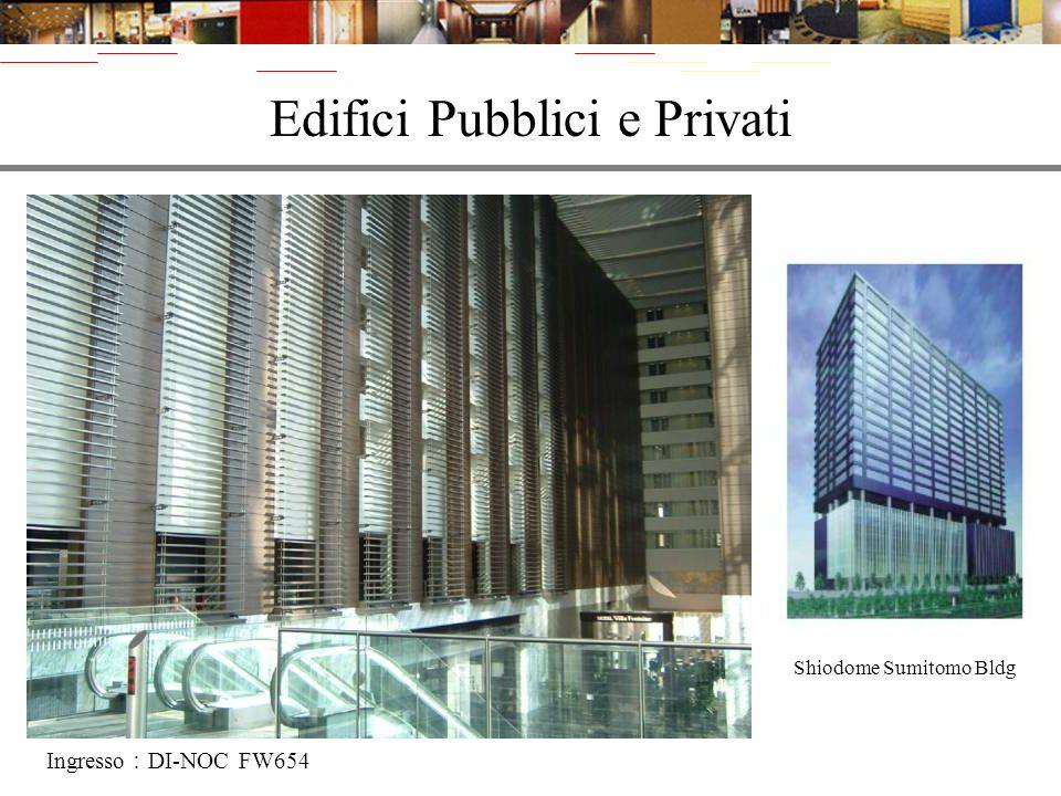Edifici Pubblici e Privati
