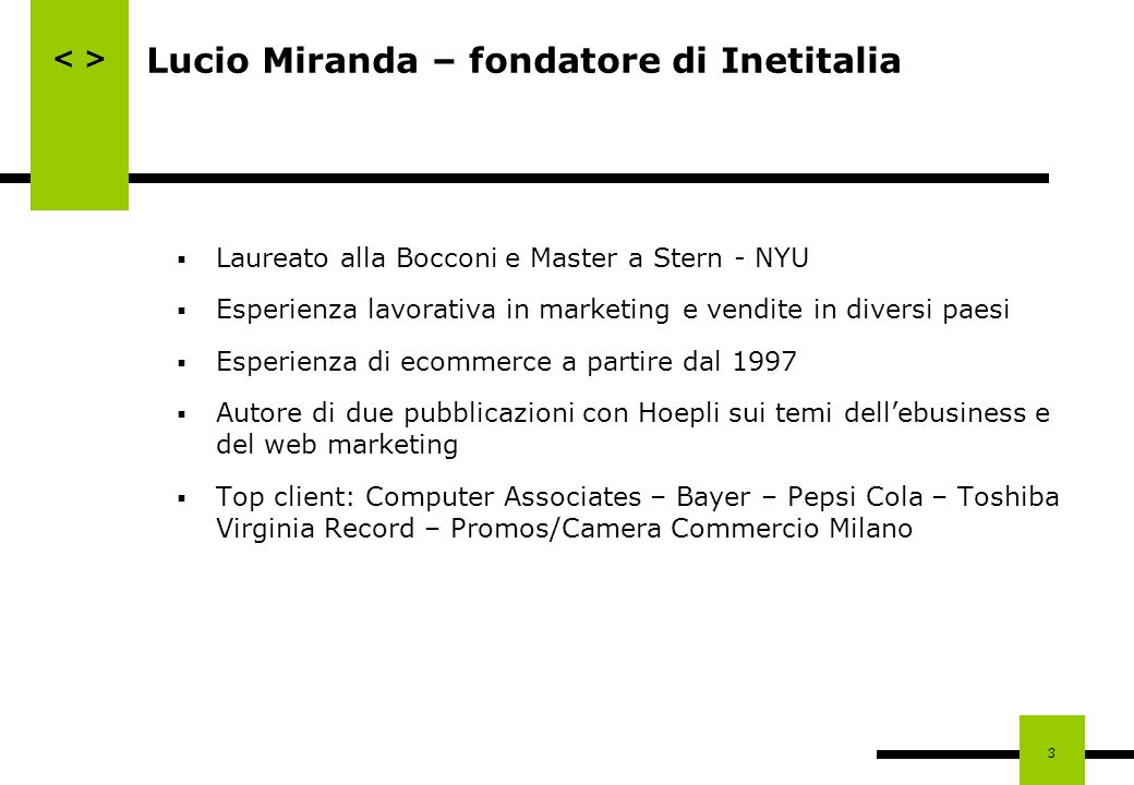Lucio Miranda – fondatore di Inetitalia
