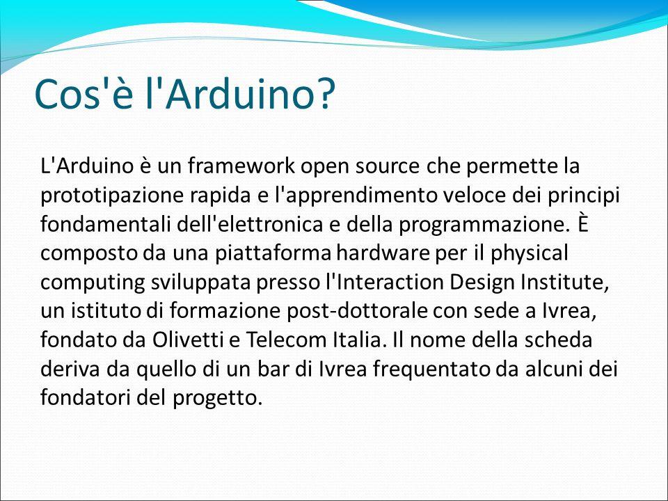 Cos è l Arduino