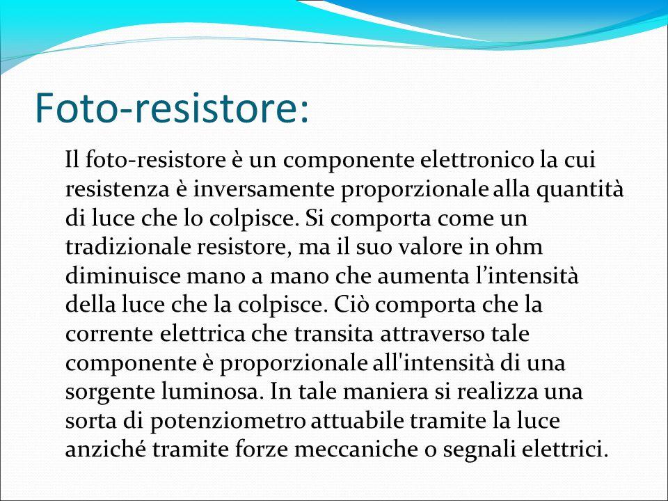 Foto-resistore: