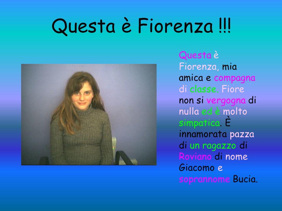 Questa è Fiorenza !!!