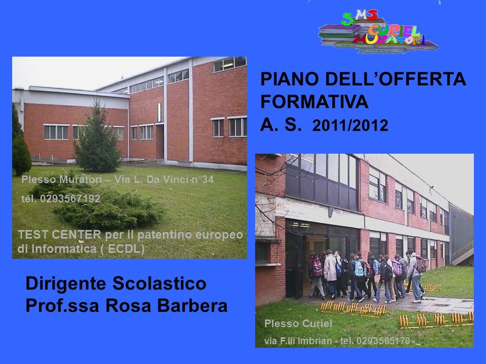 PIANO DELL'OFFERTA FORMATIVA A. S. 2011/2012