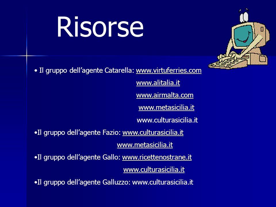 Risorse Il gruppo dell'agente Catarella: www.virtuferries.com