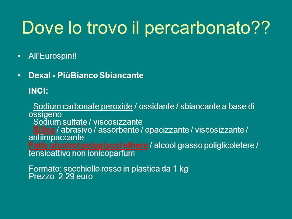 Dieci fantastici usi del bicarbonato di sodio - Dove trovo i dati catastali ...