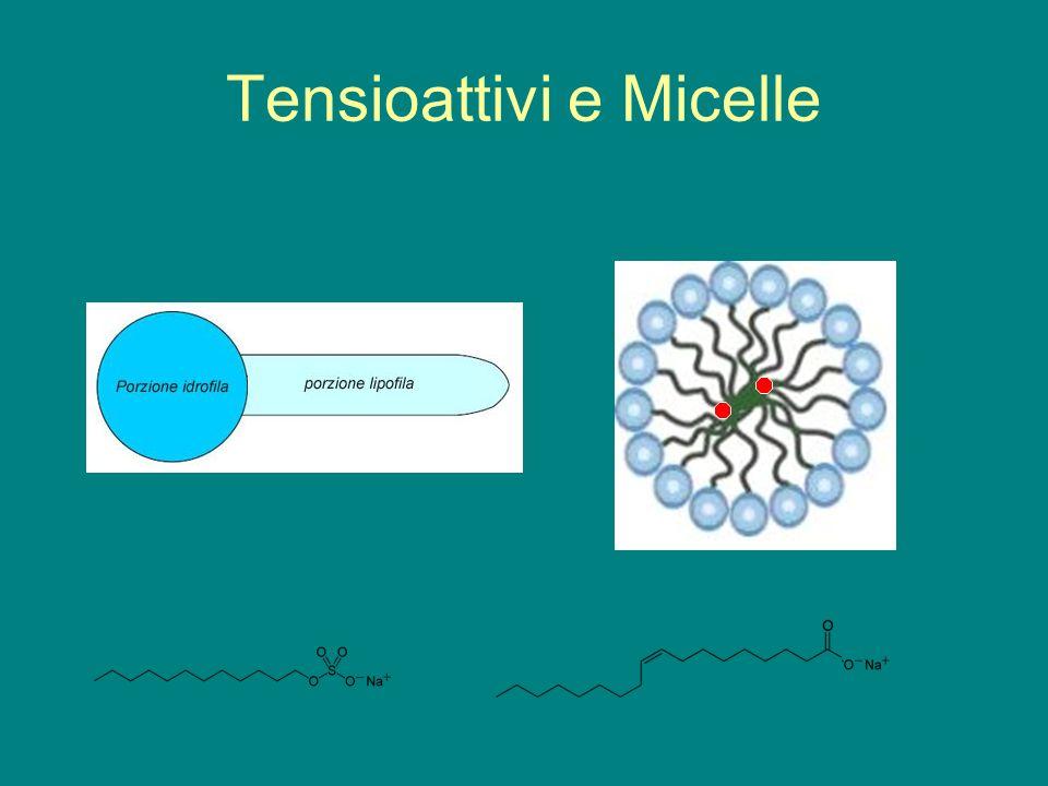 Tensioattivi e Micelle