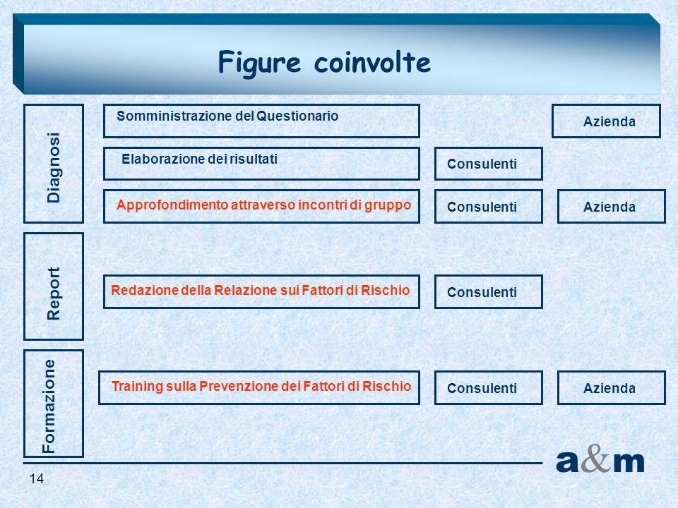 a&m Figure coinvolte Diagnosi Report Formazione