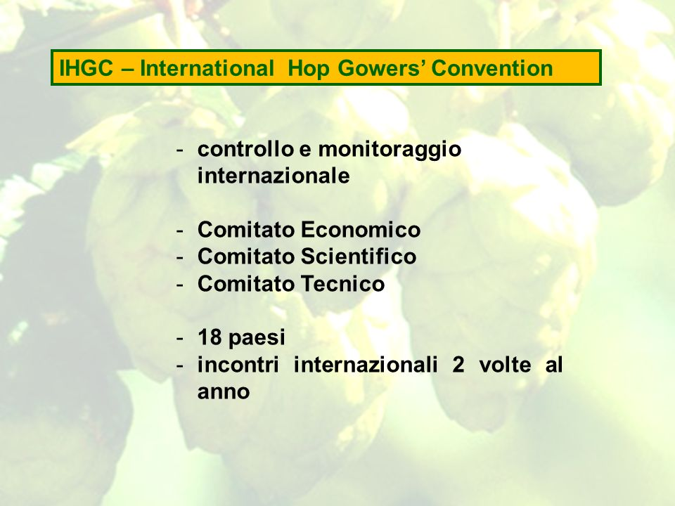 IHGC – International Hop Gowers' Convention