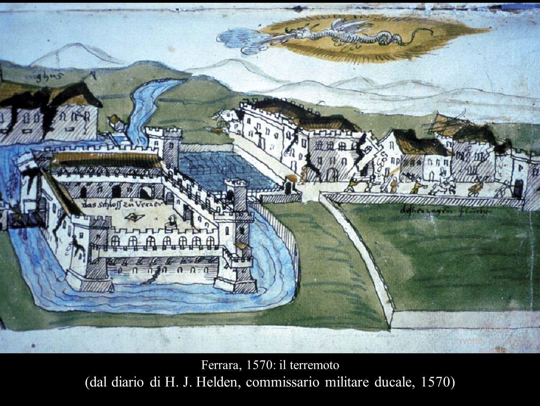 (dal diario di H. J. Helden, commissario militare ducale, 1570)