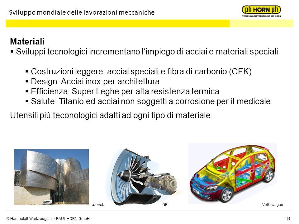 Costruzioni leggere: acciai speciali e fibra di carbonio (CFK)