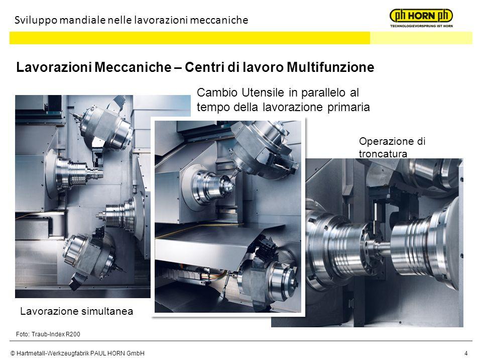 Lavorazioni Meccaniche – Centri di lavoro Multifunzione